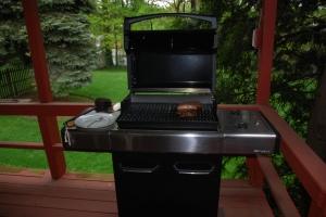 Tuvia's new grill