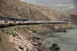 train to Kamloops